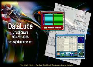 DataLube POS Software for Quick Lubes and Fast Lubes