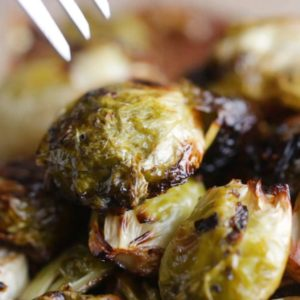 roasted brussle sprouts