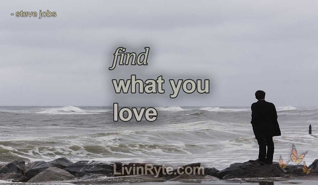 """You've Got To Find What You Love"" by Steve Jobs"